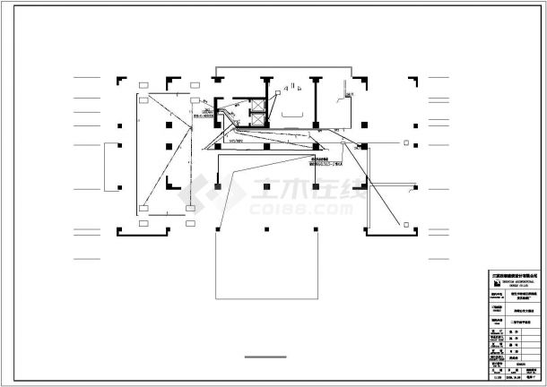 【宿迁市】洋河白宫大酒店电气设计图纸-图二