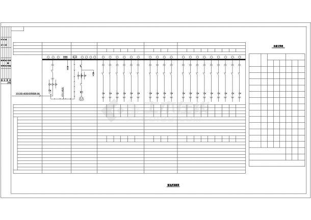 【江苏省】常州市厂房电气设计图纸-图二