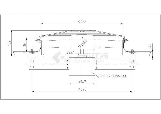 某地精密铸车间环保空调设计施工图-图一