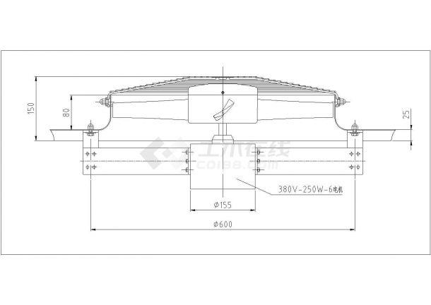 某地精密铸车间环保空调设计施工图-图二