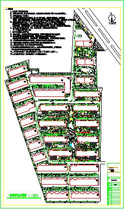 某市小区园林景观给排水设计施工图纸-图一