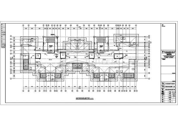 某市小区带地下室给排水消防给排水施工图-图一