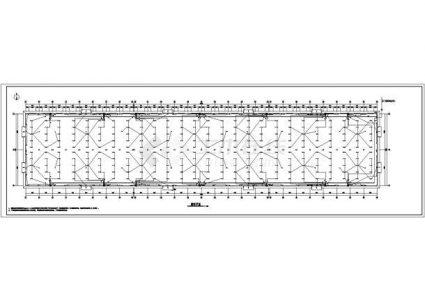 某地纸箱生产车间厂房电气设计图(共六张)-图一