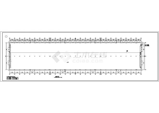 某地纸箱生产车间厂房电气设计图(共六张)-图二
