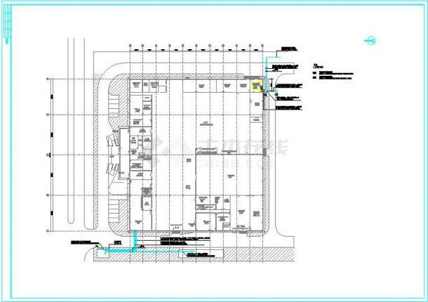 某经济开发区某工厂厂房电气设计图-图一