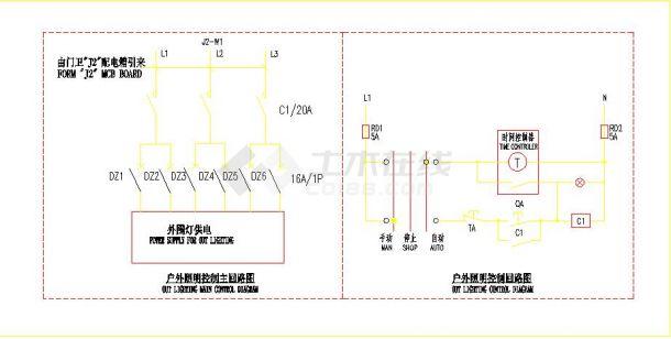 某经济开发区某工厂厂房电气设计图-图二