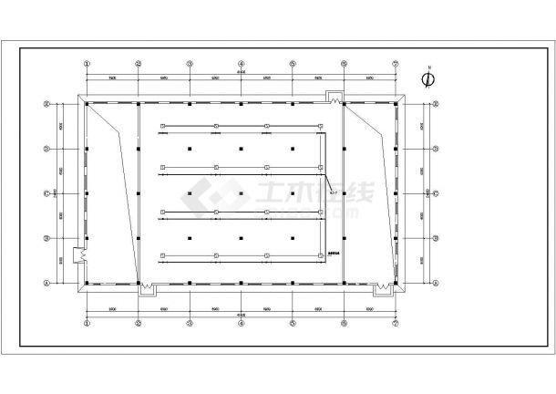 某工业药厂房电气设计图(共9张)-图一
