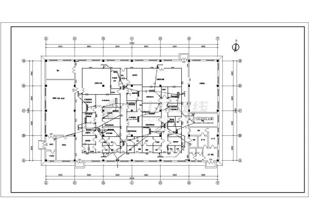 某工业药厂房电气设计图(共9张)-图二