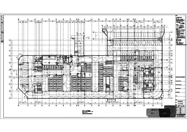 某区高档商务酒店办公建筑施工图纸-图二