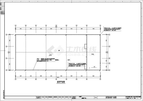 某地四层新建工业厂房电气设计图纸-图二
