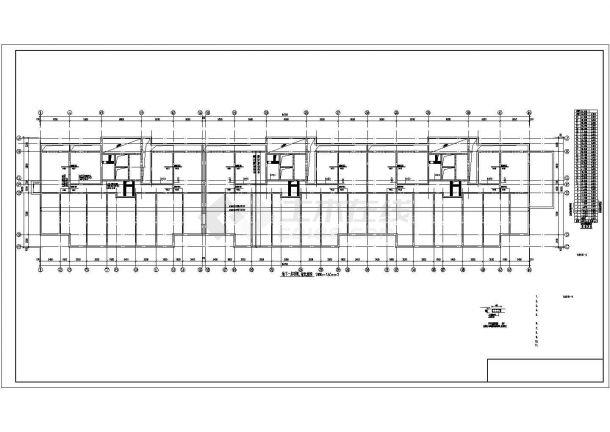 某地高层住宅楼钢筋混凝土剪力墙结构建筑结构施工图-图一