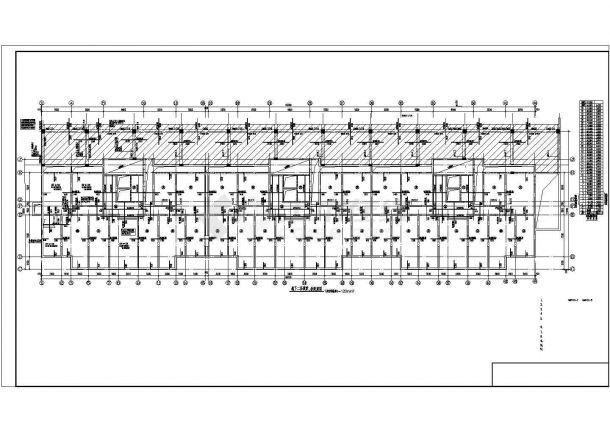 某地高层住宅楼钢筋混凝土剪力墙结构建筑结构施工图-图二