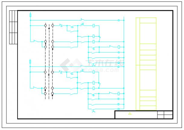 全套常用电气控制原理图(通用图)-图一