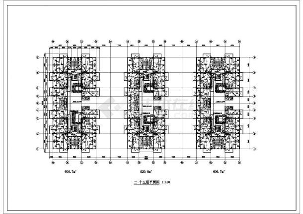 某地十五层普通住宅楼电气设计施工图-图一