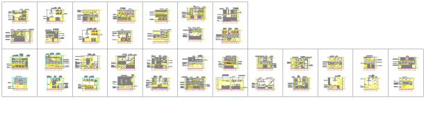 2017最新整理经典厨房立面图CAD设计详图-图一