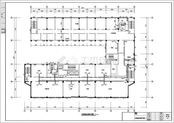 浙江某一整套高层酒店建筑给水排水设计cad施工图-图二
