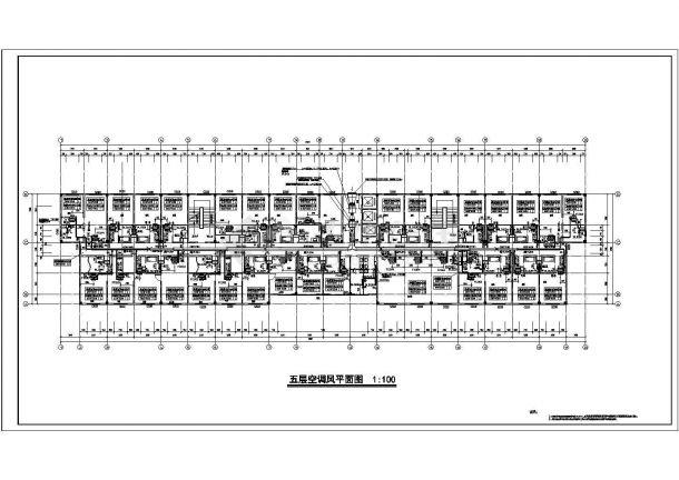某地区建筑暖通设计空调通风施工图-图二