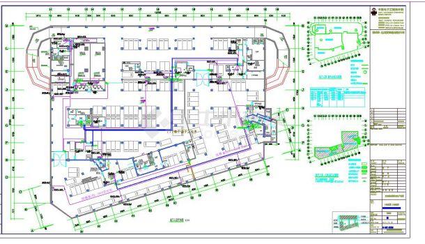 某地大型的多层厂房电气设计图纸(全套)-图一