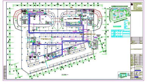 某地大型的多层厂房电气设计图纸(全套)-图二