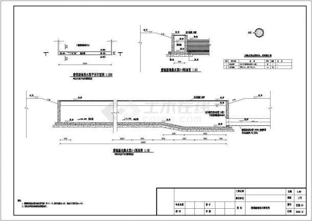 某设计院人工湿地图纸-图二