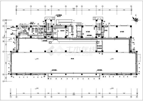 办公楼溴化锂空调详细施工方案图纸-图一