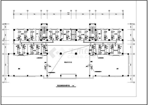 办公楼溴化锂空调详细施工方案图纸-图二