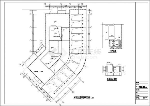 某地高层综合楼商业建筑电气设计图-图二
