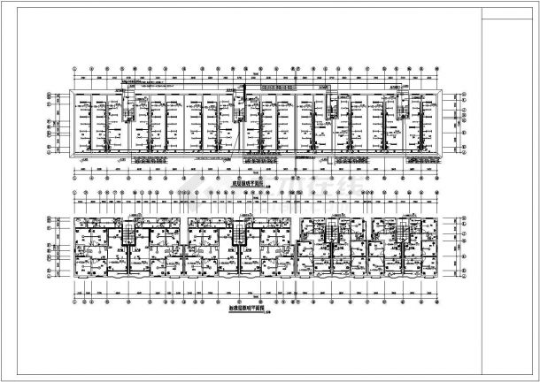 住宅公寓楼电气设计施工CAD图纸资料-图一