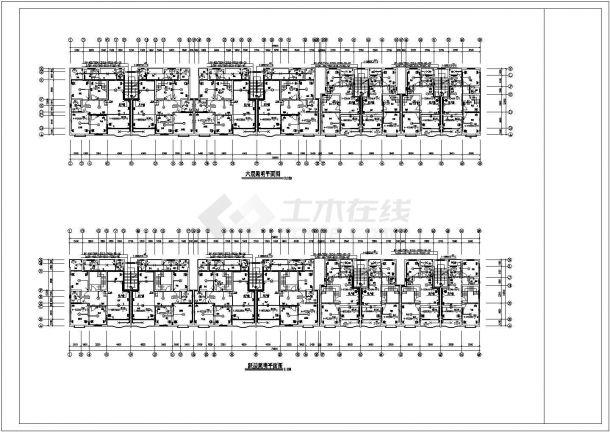 住宅公寓楼电气设计施工CAD图纸资料-图二