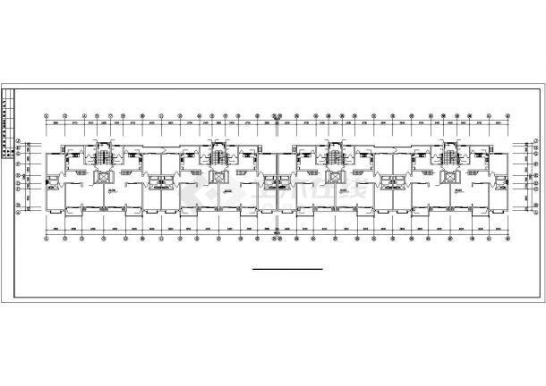 郑州某十一层小高层住宅给排水方案图-图一