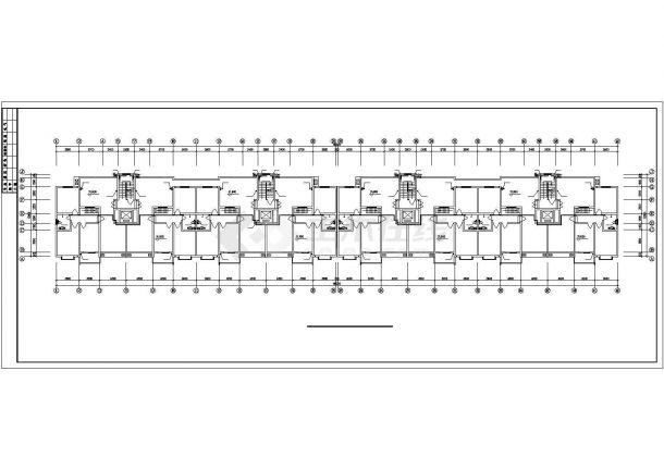 郑州某十一层小高层住宅给排水方案图-图二