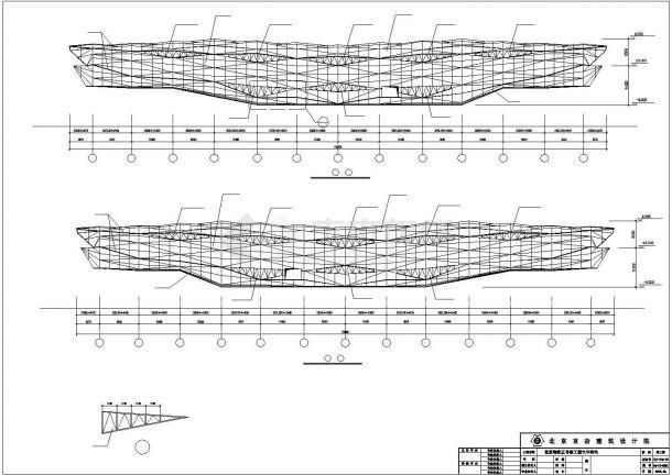 北京地铁五号线全套CAD设计施工图纸-图一