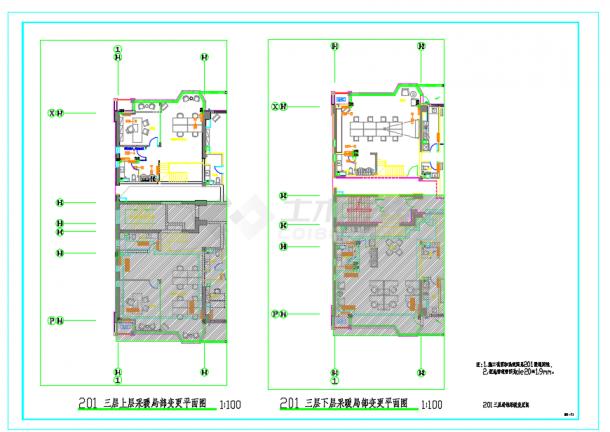 某高层商住楼散热器及地板辐射采暖系统施工图-图二