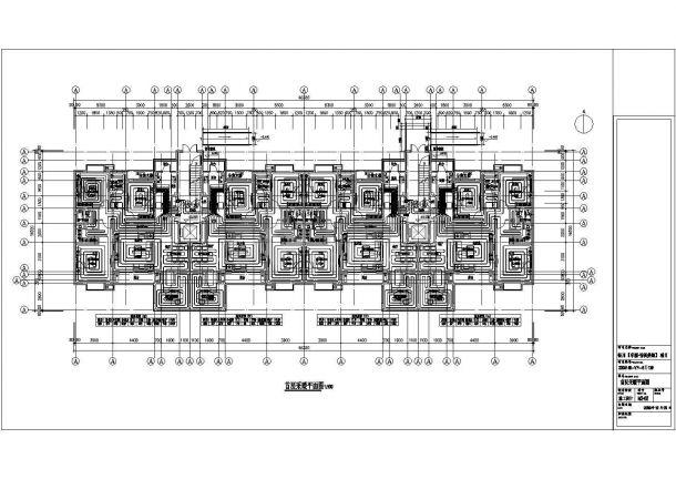 银川某住宅楼地板辐射采暖设计施工图-图二