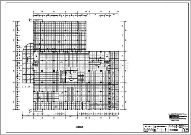 某地14层(带1层地下室)框筒结构办公楼全套结构施工图-图一