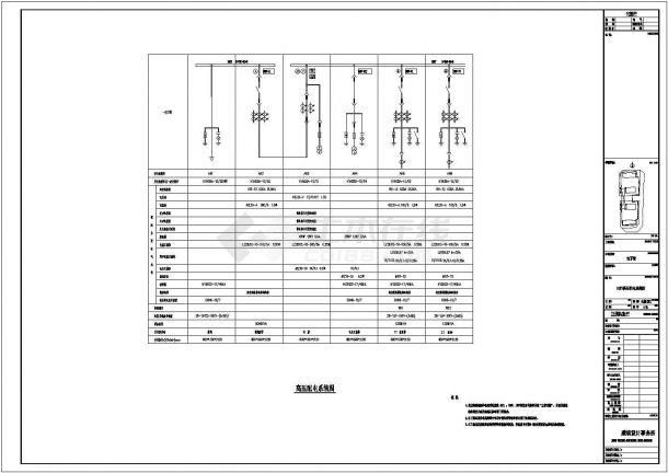 某地区高档住宅电气系统设计施工图-图二