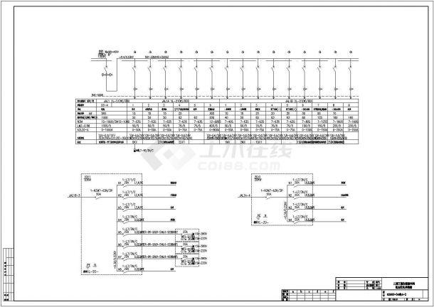 某电气大型加速器厂房电气设计图纸(全套)-图一