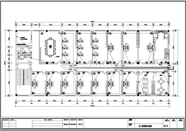 某地区住宅公寓楼电气设计全套CAD图-图二