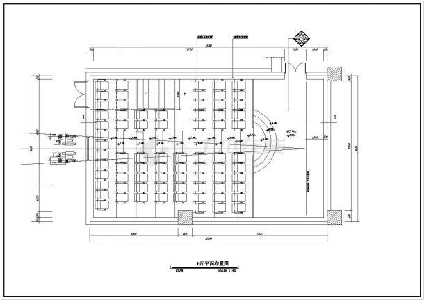 保利国际电影院设计方案及施工全套CAD图纸-图一