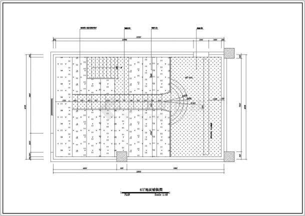 保利国际电影院设计方案及施工全套CAD图纸-图二