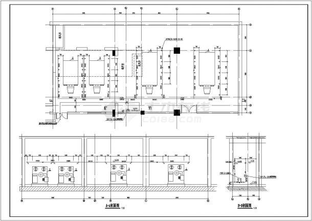 北京大型商业综合体供热锅炉房设计施工图-图二