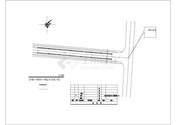 某地别墅园林绿化设计施工图(全套)-图一