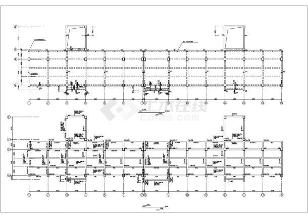 某地别墅园林绿化设计施工图(全套)-图二