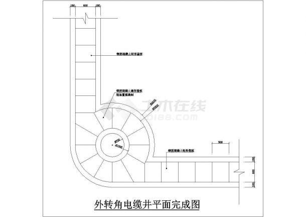 敷设1 2根高压电缆电缆井设计方案图图片