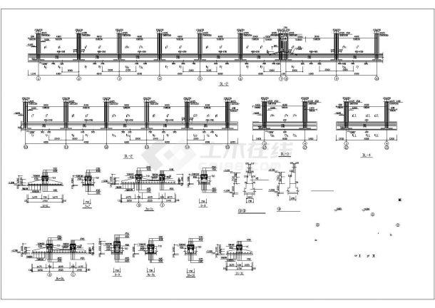 某地小广场园林景观施工图4(共3张)-图二