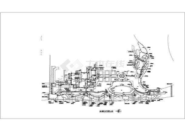 上海绿城玫瑰园样板区景观植物配置图-图一
