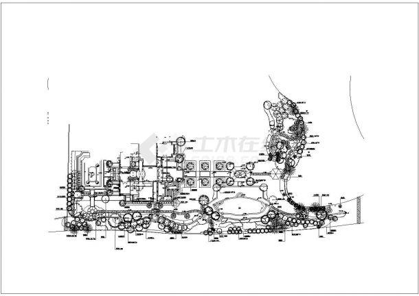 上海绿城玫瑰园样板区景观植物配置图-图二