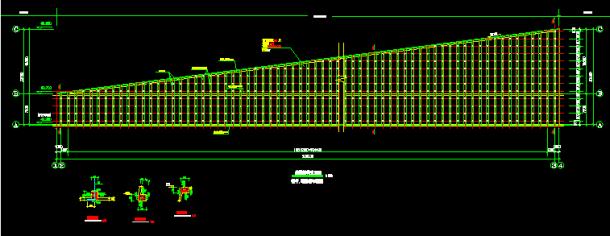 某建筑工程锚杆挡墙边坡支护施工图-图一