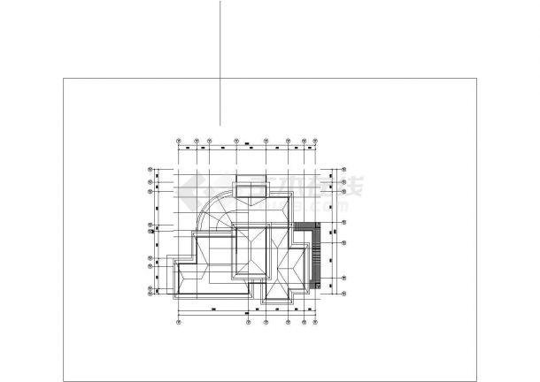 精美别墅建筑设计图纸(含效果图、3D模型图纸)-图二