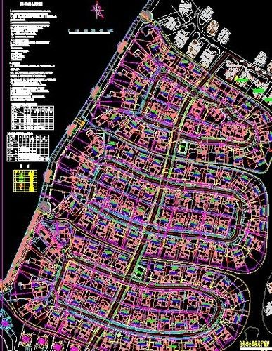 同里湖花园住宅三期室外管线综合规划设计-图一